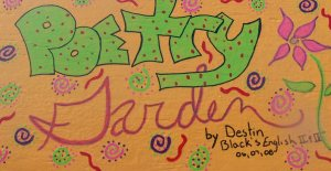 Figure 36 Black, Destin. Poetry Garden 36, 2006-2008